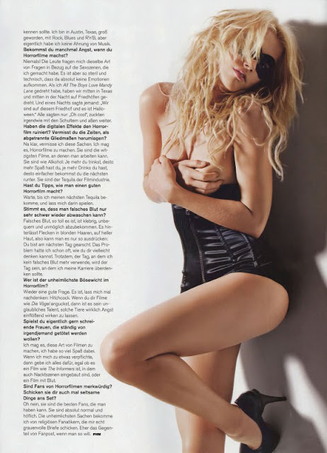 Amber Heard Sizzles in FHM 4