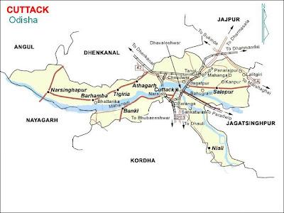 Odisha at a Glance: Cuttack Districts