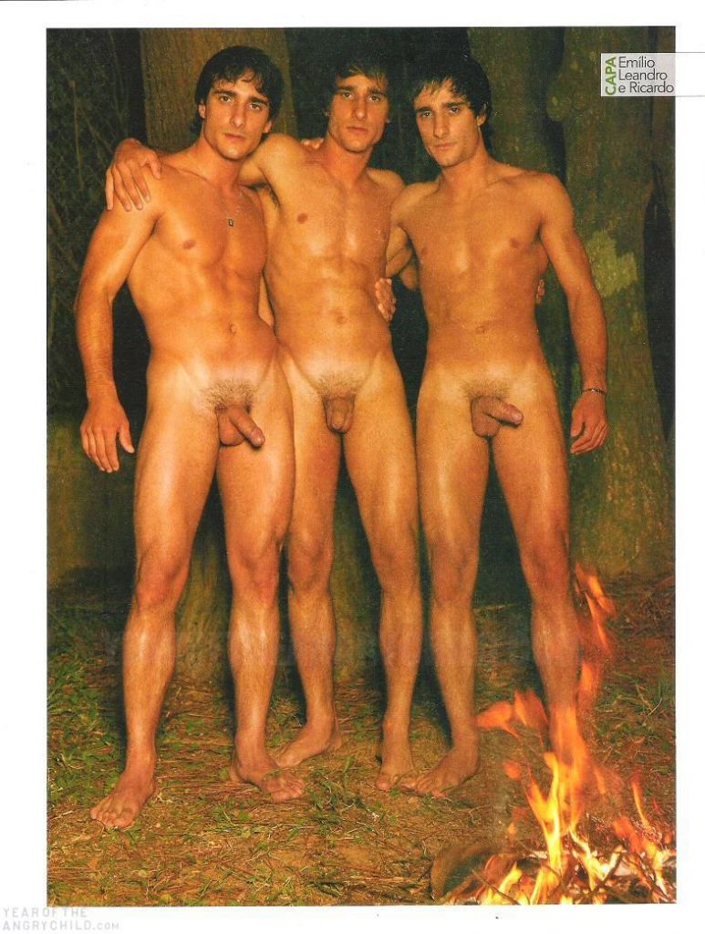 Guys naked twin