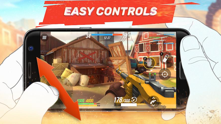 Playstore Screenshot of Guns of Boom