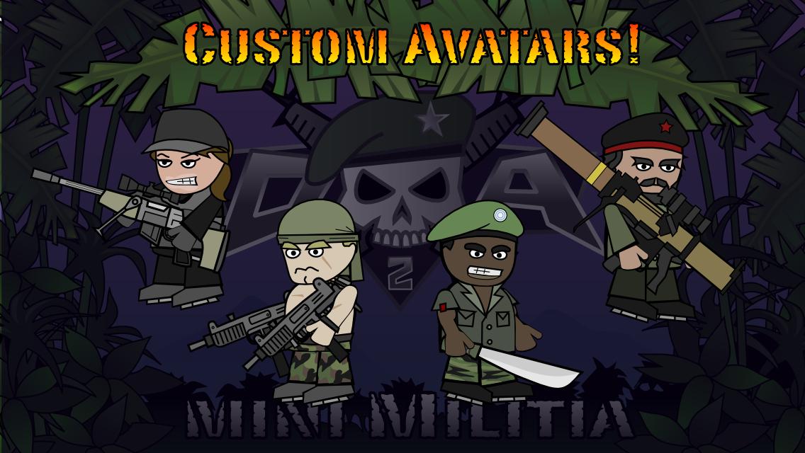 Mini Miliitia 2 : Doodle Army Mod APK