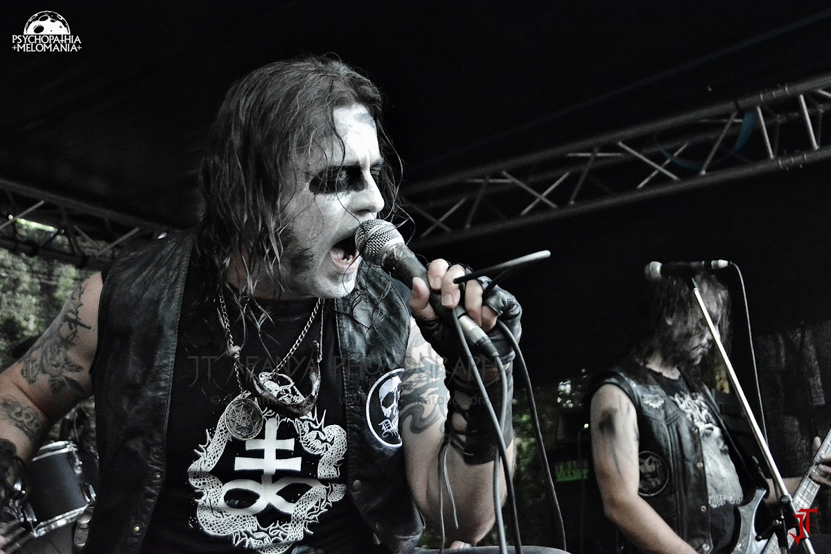 Deathrow @Under The Black Sun XVIII, Helenenauer, Allemagne 03/07/2015