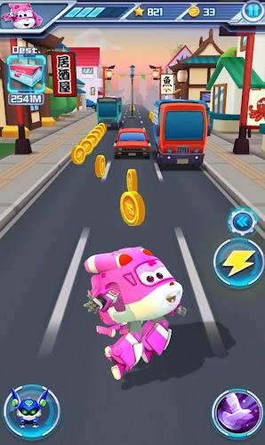 Super Wings : Jett Run Screenshot 02