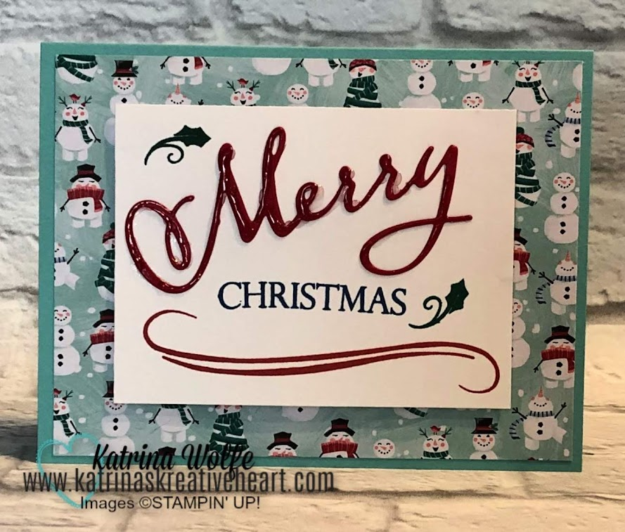"Blending New with the ""Old""- Merry Christmas to All with New Holiday Catalog Sneak Peeks"