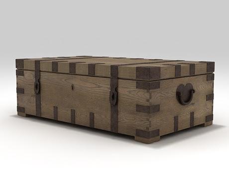 [3Dsmax] 3D model free - Coffee trunk