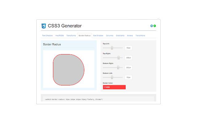 css3 generator for web designer