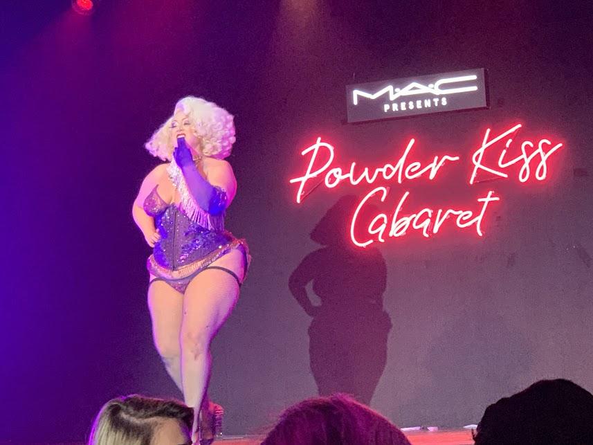 Mac Cosmetic Powder Kiss Cabaret Celebration at Sony Hall