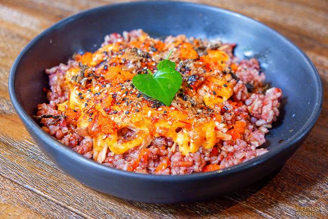 salmon aburri bowl