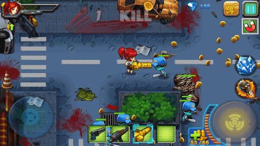 Zombies Attack Anh hùng Vs Zombies Hack Full Tiền Vàng Kim Cương