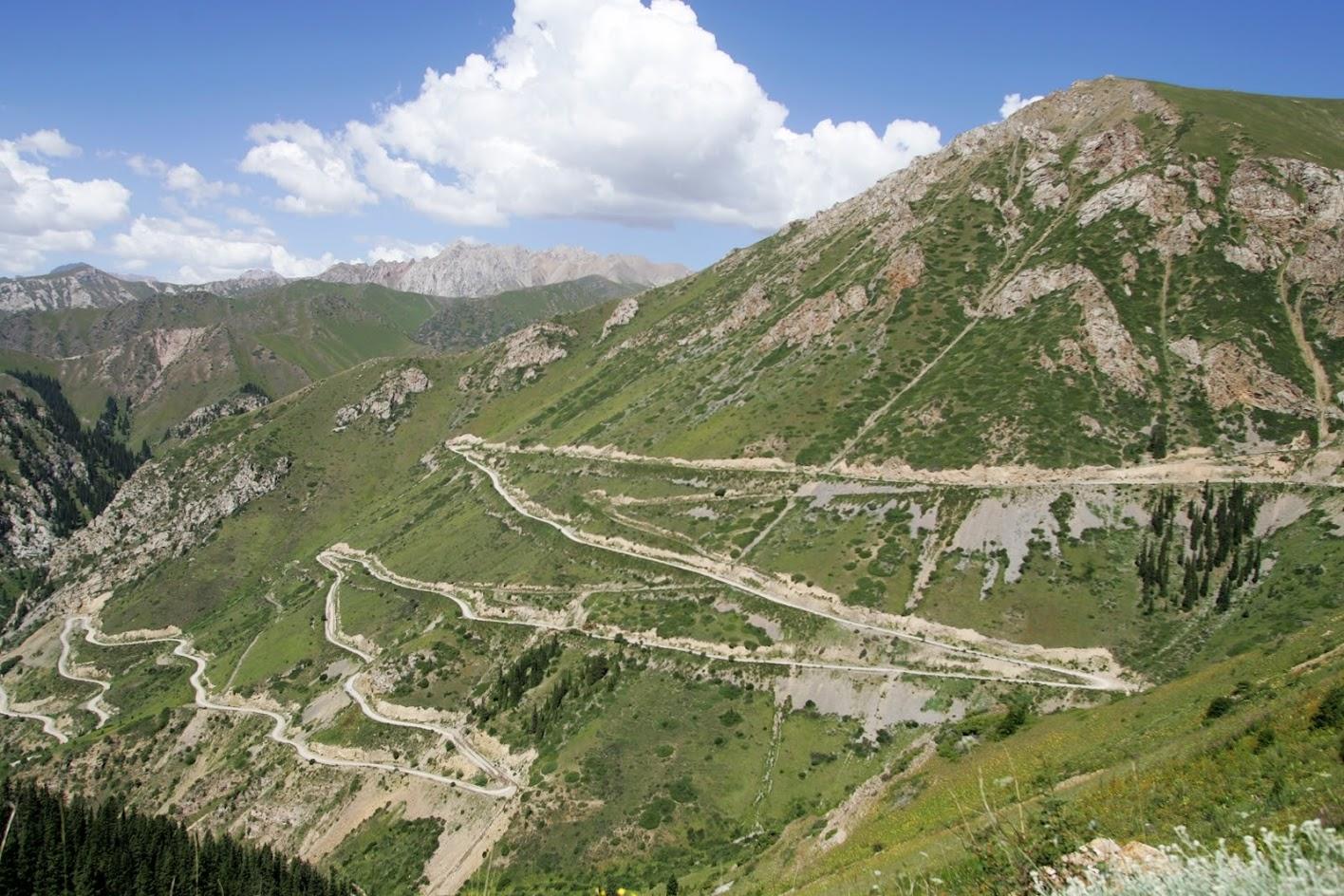 motocyklowa podróż do kirgistanu