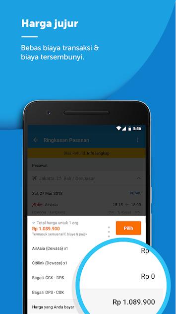 Download Aplikasi traveloka