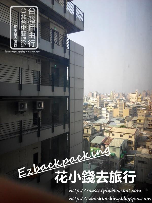 台中酒店四人房內環境