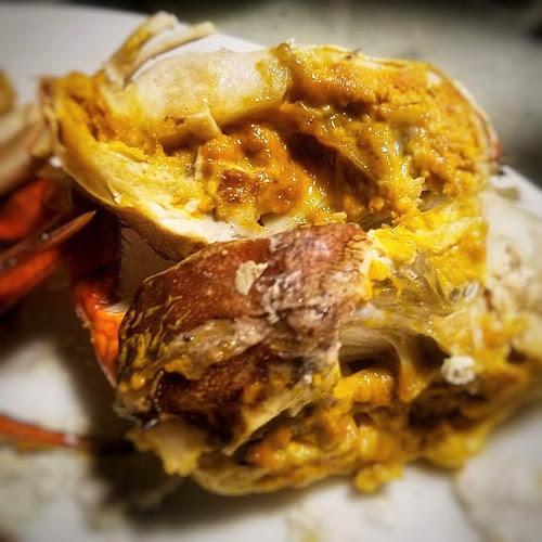 chinese, immature female, Mud Crab, recipe, steamed, virgin, yim chai, 奄仔蟹, 清蒸, 青蟹,