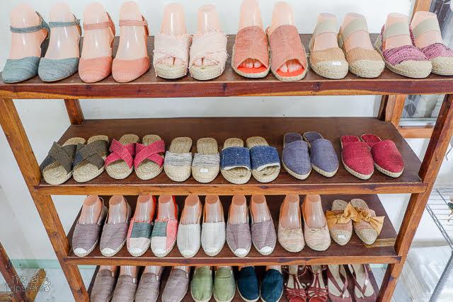 silk footwear