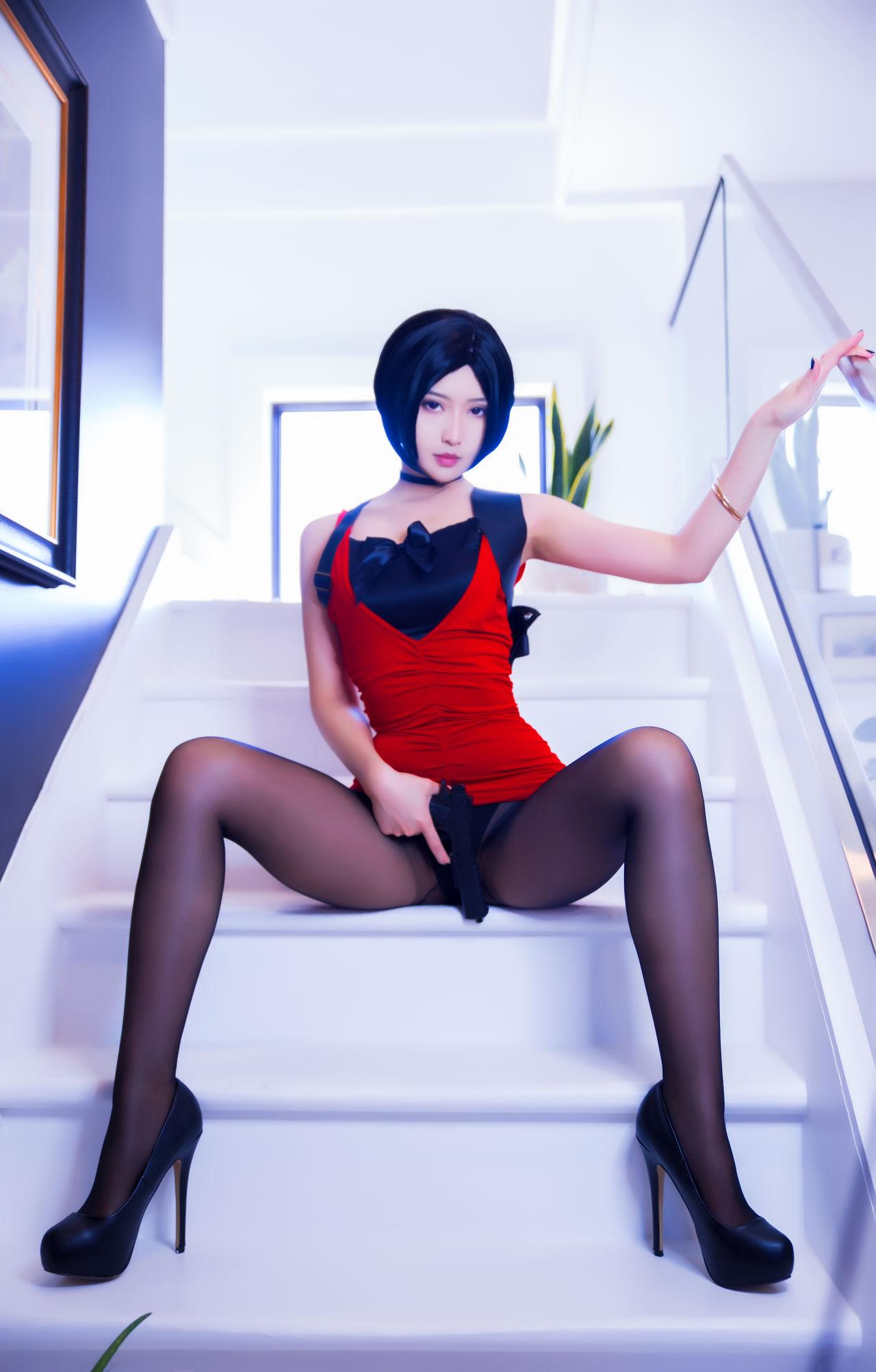 Misswarmj Ada Wong Cosplay