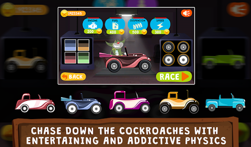 Game Oggy Go World of Racing Mod Hack