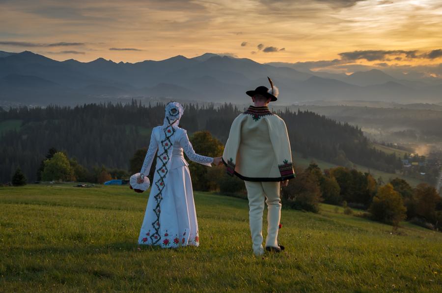 Tatry i Pieniny - ach...co to był za ślub! :))