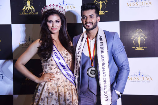Shefali Sood wins the title of Miss Diva Supranational 2019 & Varun Verma wins the title of Mr India Supranational 2019
