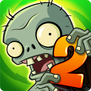 Plants vs Zombies 2 Mod Apk + OBB For Android Logo