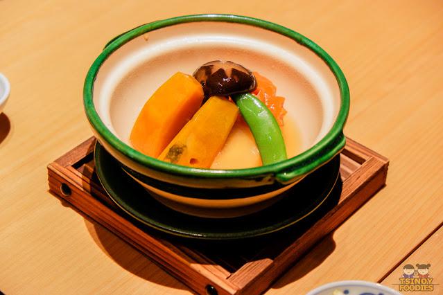 Yasai Takiawase  野菜炊き合わせ
