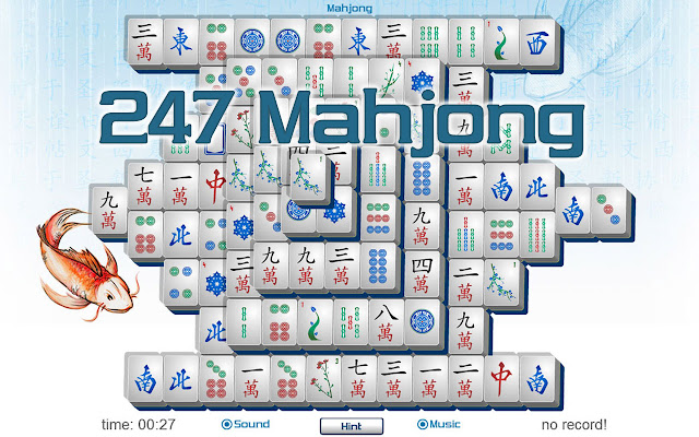 Try your hand at a little Mahjong 247!