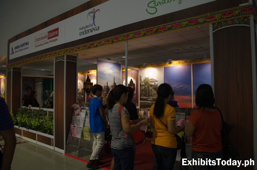 Wonderful Indonesia Exhibit Booth