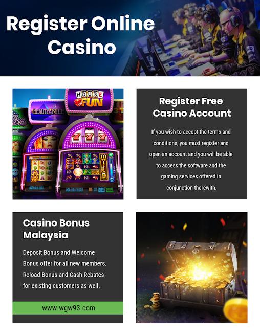 Register Online Casino