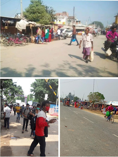 सीमा सील के बाद भी नेपालियों की आवाजाही तेज