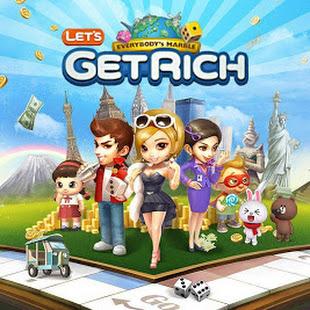 LINE Let's Get Rich apps
