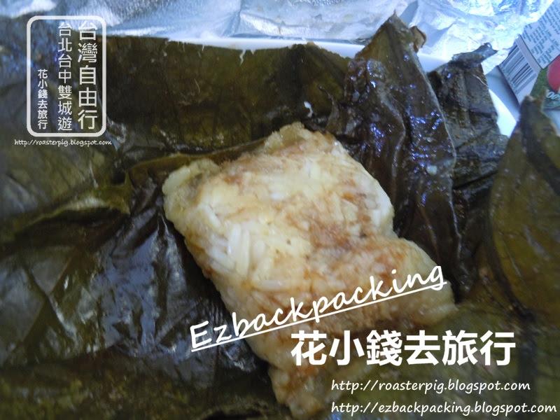 長榮航空-香港去台北飛機餐:珍珠雞