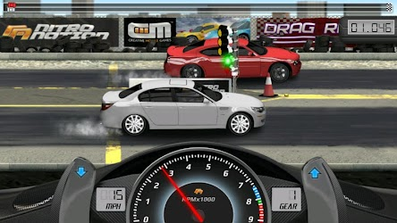 game balap mobil drag keren