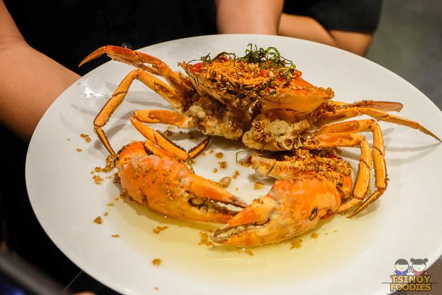 sauteed crab