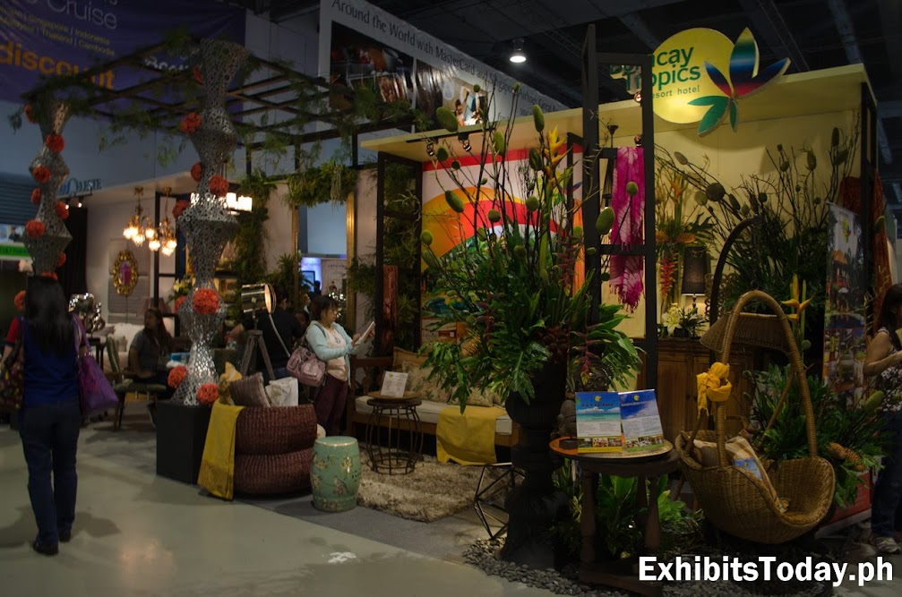 Boracay Tropics Trade Show Booth Display