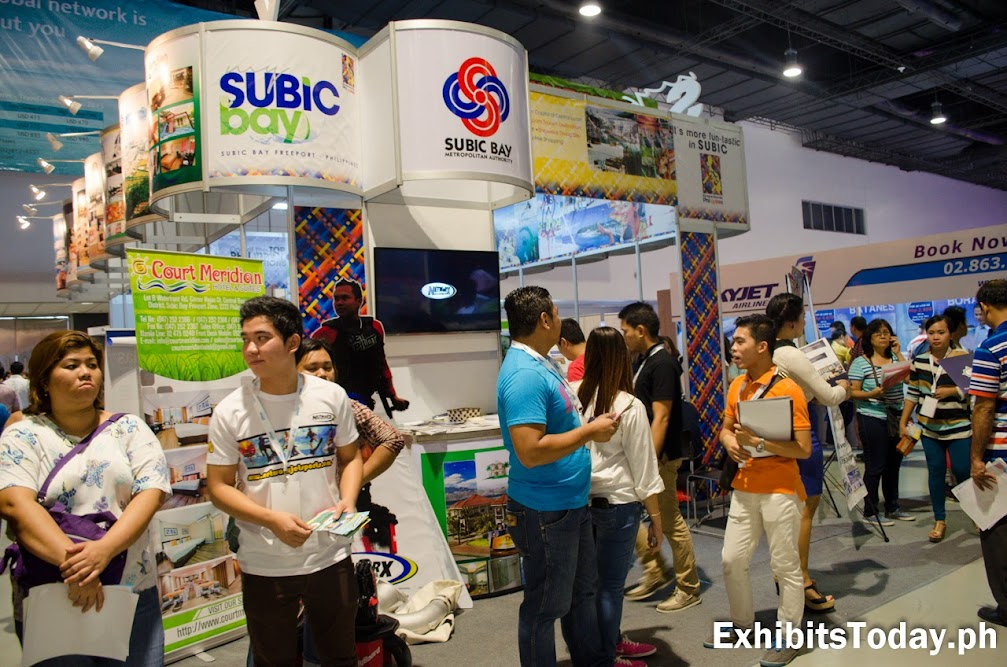 Subic Bay Metro Authority Exhibit Booth