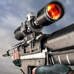 Sniper 3D Gun Shooter Mod Logo
