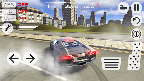 Extreme Car Driving Simulator MOD + Apk Unlimited Gold Download For Android