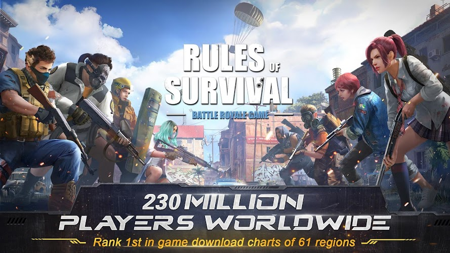 RULES OF SURVIVAL Screenshot 02