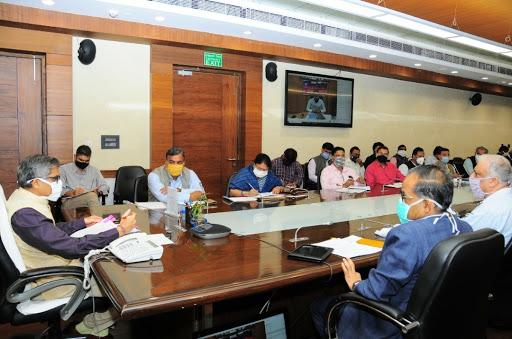 मुख्य सचिव की अध्यक्षता में 'प्रगति' की समीक्षा बैठक आयोजित