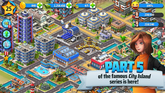 City Island 5 – Tycoon Building Simulation Offline 1.10.0 Mod APK Unlimited Money Free Shopping
