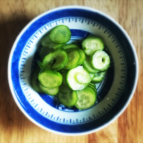japanese, Pickled, Cucumbers, quick pickles, recipe, salt, vegetables, shiozuke