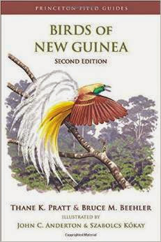 field guide book Birds of New Guinea by Thane K. Pratt. et al