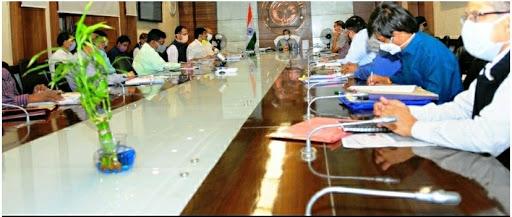 मुख्य सचिव की अध्यक्षता में स्वच्छ भारत मिशन अर्बन की राज्य स्तरीय उच्चाधिकार संचालन समिति की 8वीं बैठक संपन्न