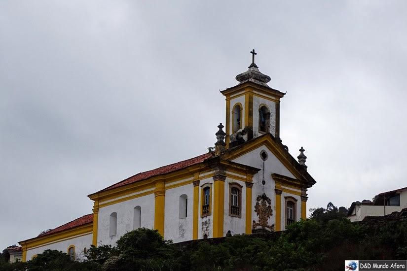 Igreja de Nossa Senhora das Mercês e da Misericórdia - O que fazer em Ouro Preto (MG)
