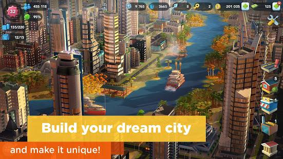 SimCity BuildIt 1 28 4 88140 APK/Mega Mod Unlimited Simoleons