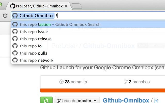 google crome omnibox github