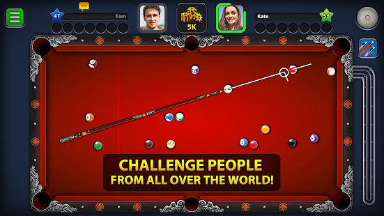 8 Ball Pool Mod APK Extended Stick Guideline For Android Gameplay Screenshot 2