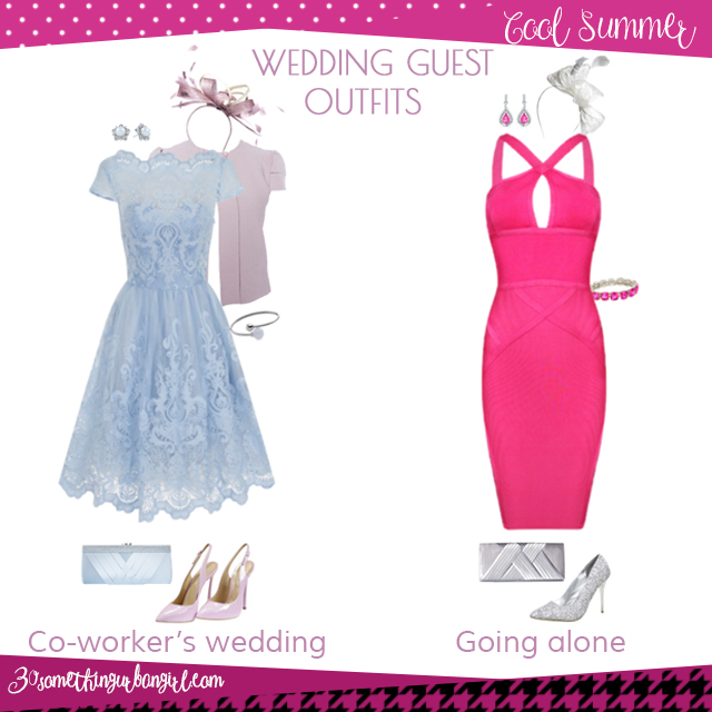 Wedding guest outfit ideas for Cool Summer women by 30somethingurbangirl.com // Are you invited to a your co-worker's wedding or maybe going solo to a nuptials? Find pretty outfit ideas and look glamorous!