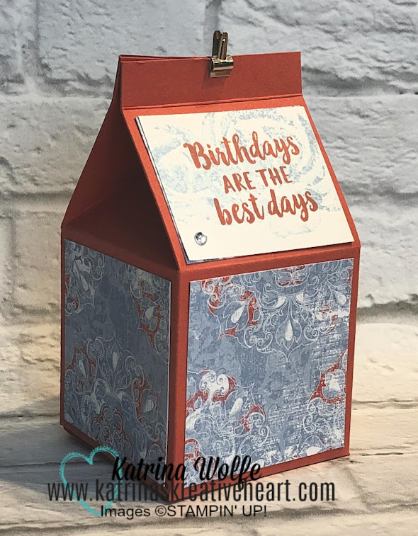 Beautiful Friendship Milk Carton Gift Box