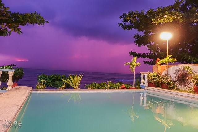 violet pool view