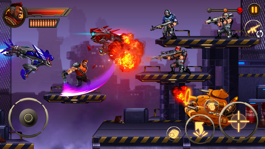 Metal Squad Screenshot 02